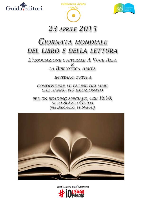 Giornata Mondiale del Libro e della Lettura